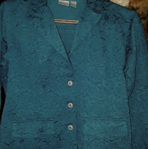 Chicos Deep Blue Jacket